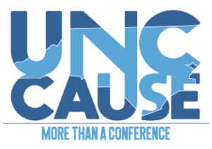 UNC CAUSE logo with slogan More than a Conference