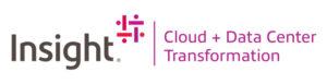 insight logo with slogan cloud plus data center transformation